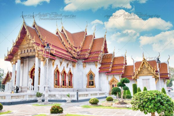 Bangkok National Museum - Bangkok, Thailand. Classical Thai architecture in National Museum of Bangkok