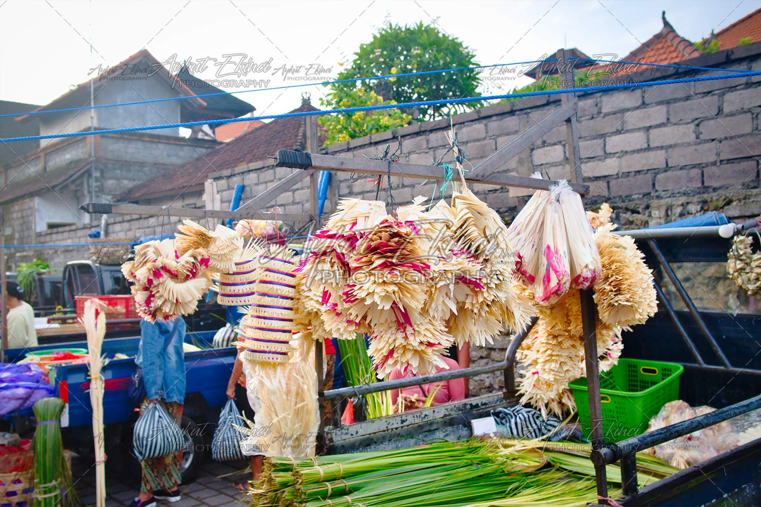 Morning Market in Ubud, Bali Island, Indonesia